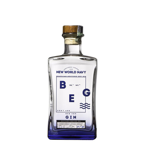 GIN BEG NAVY 750 ML