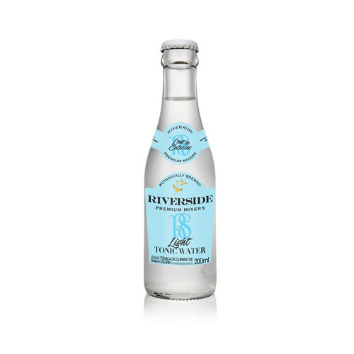 AGUA TONICA RIVERSIDE LIGHT 200ML