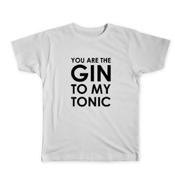 CAMISETA GC YOU ARE THE GIN TO MY TONIC